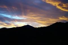 tramonto a Selvapiana