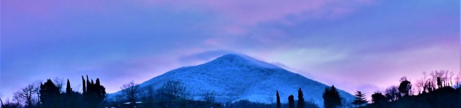 Tramonto sul Bucciana